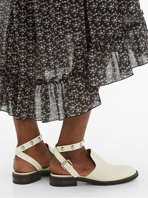 See By Chloe studded backless leather loafers