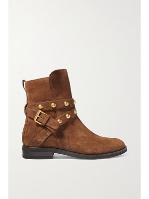See By Chloe studded suede ankle boots