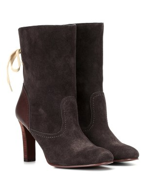 See By Chloé lara suede ankle boots
