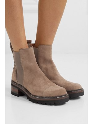 See By Chloe suede chelsea boots