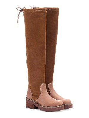 See By Chloe Suede over-the-knee boots