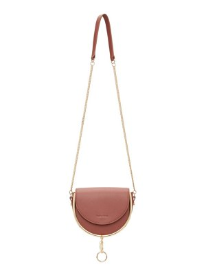 See By Chloe taupe mara evening bag