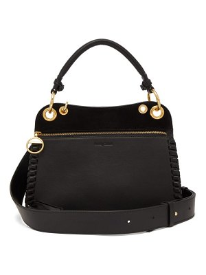 See By Chloe tilda whipstitched leather bag