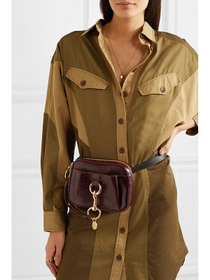 See By Chloe tony snake-effect leather belt bag