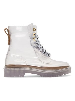 See By Chloe transparent florrie boots