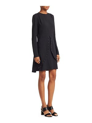 See By Chloe tulip stud crepe dress