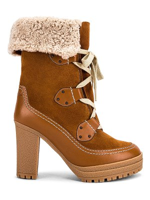 See By Chloe verena shearling lined boot