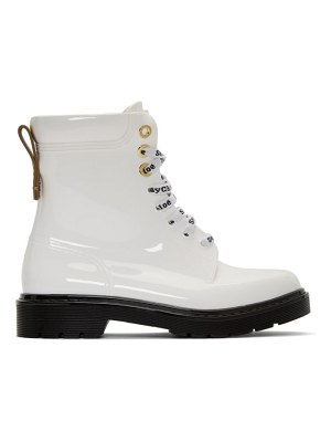 See By Chloe white florrie boots
