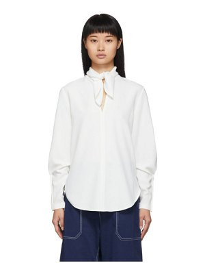 See By Chloe white pussy-bow blouse