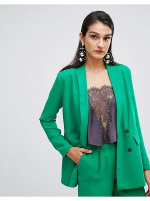 Selected Femme double breasted long blazer
