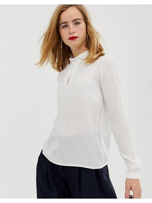 Selected femme roll neck blouse
