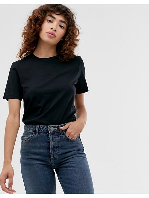 Selected femme my perfect tee in black