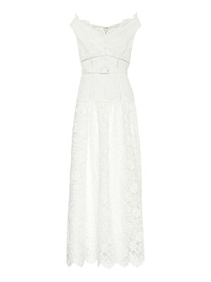 self-portrait exclusive to mytheresa – floral lace maxi dress