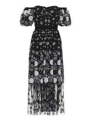 self-portrait exclusive to mytheresa – sequined tulle dress