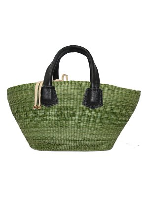 Sensi Studio Mini Canasta Straw Tote Bag