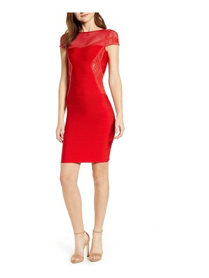 SENTIMENTAL NY embroidered body-con dress