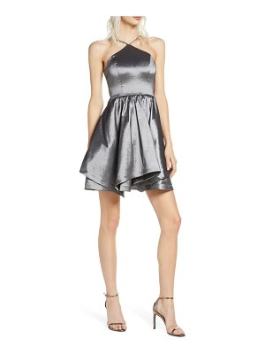 Sequin Hearts taffeta party dress