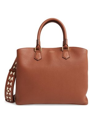 SERAPIAN MILANO luna mosaic leather satchel