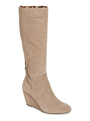 Seychelles star of the show wedge knee high boot