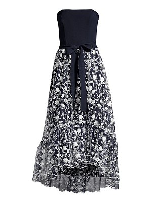 Shoshanna mailly strapless belted dress