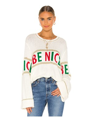 Show Me Your Mumu andes sweater