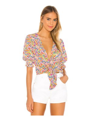 Show Me Your Mumu kimmy tie top