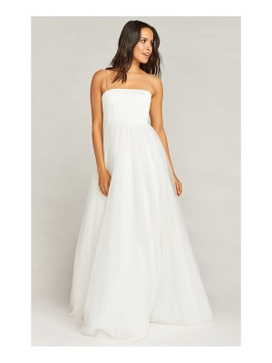 Show Me Your Mumu palace tulle wedding dress