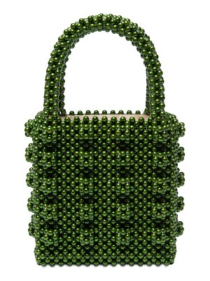 Shrimps Antonia beaded top handle bag