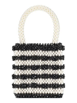 Shrimps antonia beaded tote