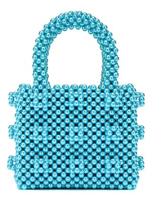 Shrimps antonia mini beaded tote