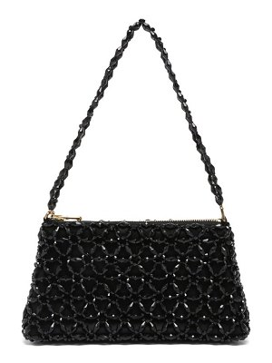 Shrimps dawson floral-beaded bag