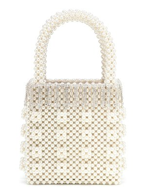 Shrimps huckleberry embellished beaded tote