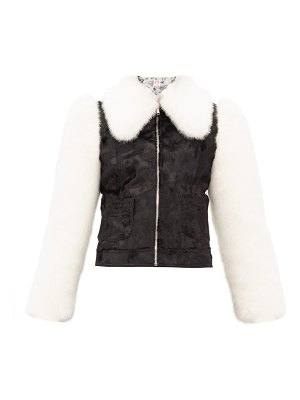 Shrimps otis faux-fur jacket