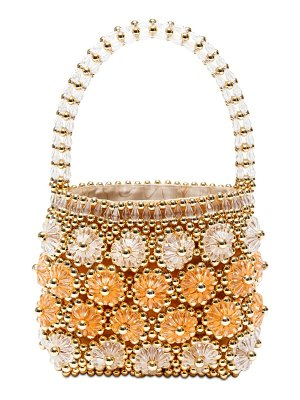 Shrimps Shelly beaded top handle bag