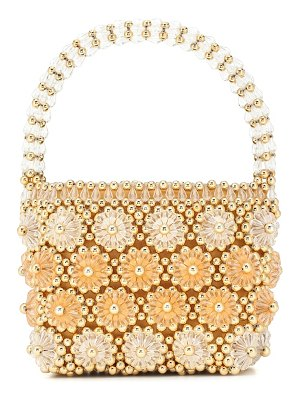Shrimps shelly beaded tote
