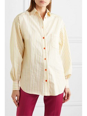SIES MARJAN emanuela striped cotton-blend shirt
