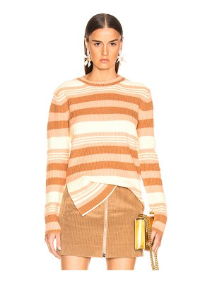 SIES MARJAN shay striped pick up sweater