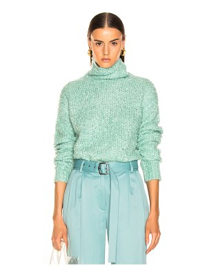 SIES MARJAN Sukie Boucle Turtleneck