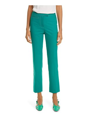 SIES MARJAN tropical blend straight leg pants