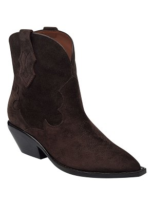Sigerson Morrison Taima Suede Western Booties
