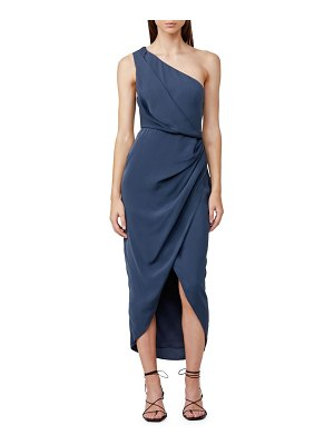 Significant Other agnes one-shoulder ruched dress