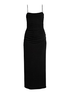 Significant Other neptune ruched midi dress
