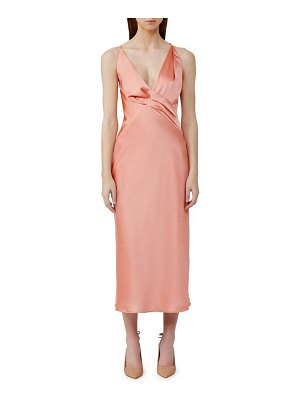 Significant Other palma satin midi dress