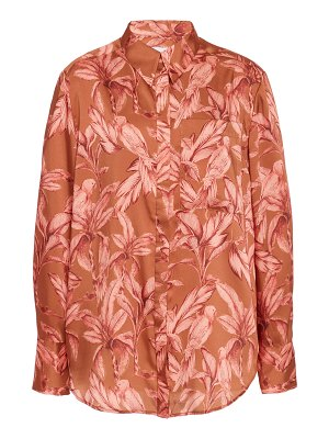 Significant Other soller button down printed shirt