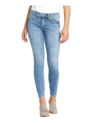 Silver Jeans Co. elyse high waist skinny jeans