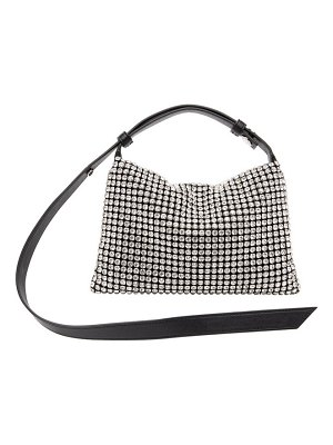 Simon Miller black crystal puffin bag