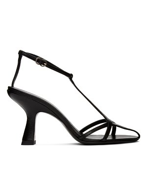 Simon Miller black star heeled sandals