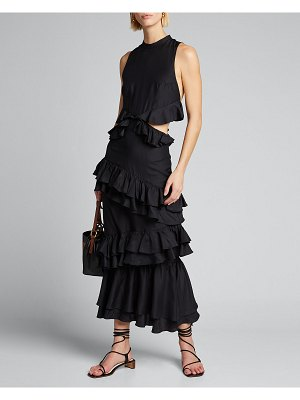 SIR the label Aramis Ruffle Gown