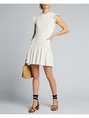 SIR the label Emile Ruched Mini Dress
