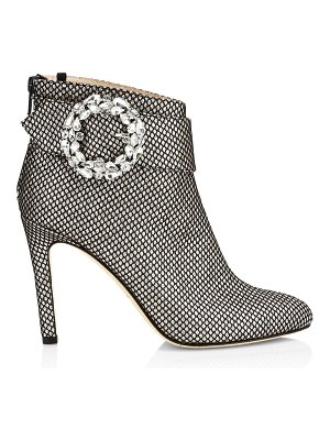 SJP by Sarah Jessica Parker jeweled buckle glittered ankle boots